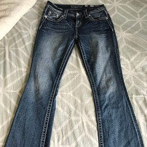 Miss Me Mid-Rise Boot Cut Jeans